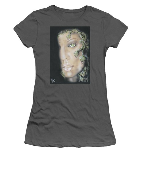 1st Medusa Women's T-Shirt (Junior Cut) by John Sodja