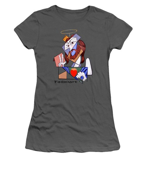 Peace Be With You Women's T-Shirt (Junior Cut) by Anthony Falbo