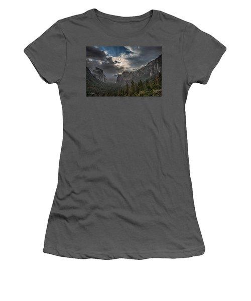 Clouds And Light Women's T-Shirt (Junior Cut) by Bill Roberts