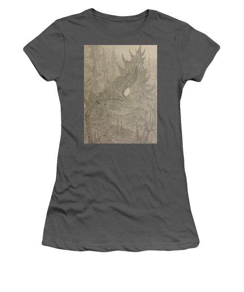 Coastal Castle Women's T-Shirt (Junior Cut) by Corbin Cox