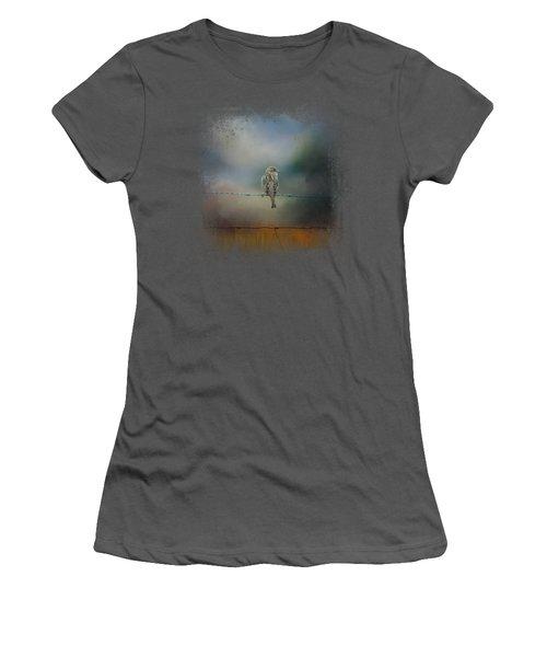 Fence Master Women's T-Shirt (Junior Cut) by Jai Johnson