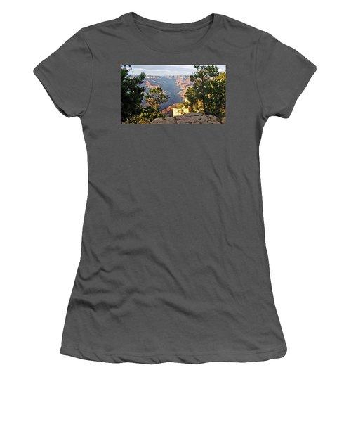 Grand Canyon No. 1 Women's T-Shirt (Junior Cut) by Sandy Taylor