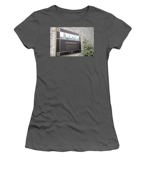 Women's T-Shirt (Junior Cut) featuring the photograph In Memoriam - Ypres by Travel Pics