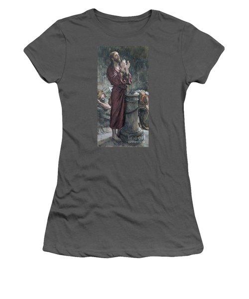 Jesus In Prison Women's T-Shirt (Junior Cut) by Tissot