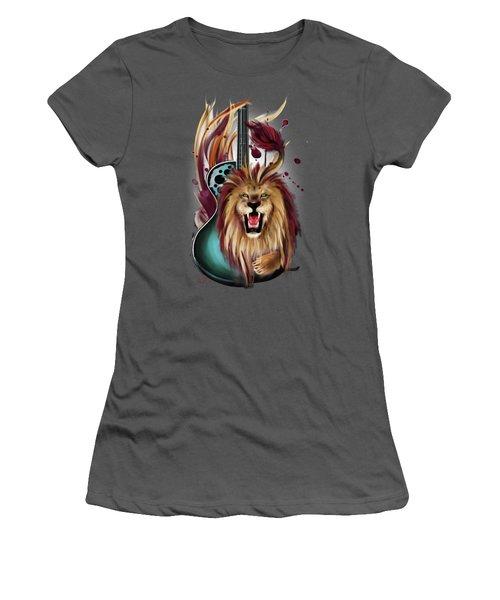 Leo Women's T-Shirt (Junior Cut) by Melanie D