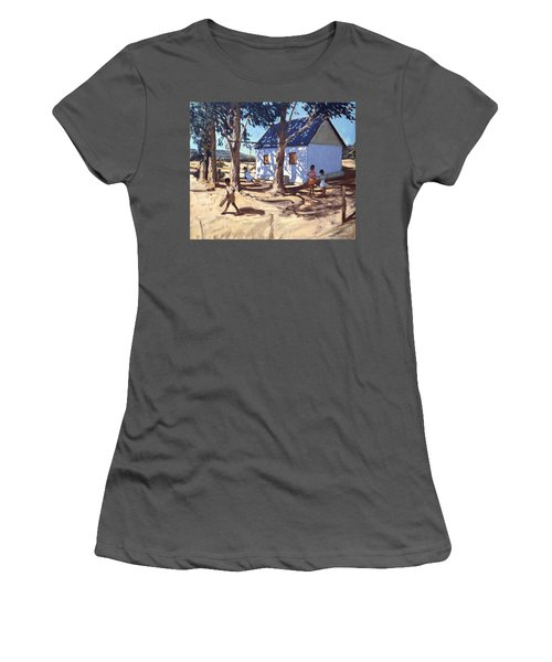 Little White House Karoo South Africa Women's T-Shirt (Junior Cut) by Andrew Macara