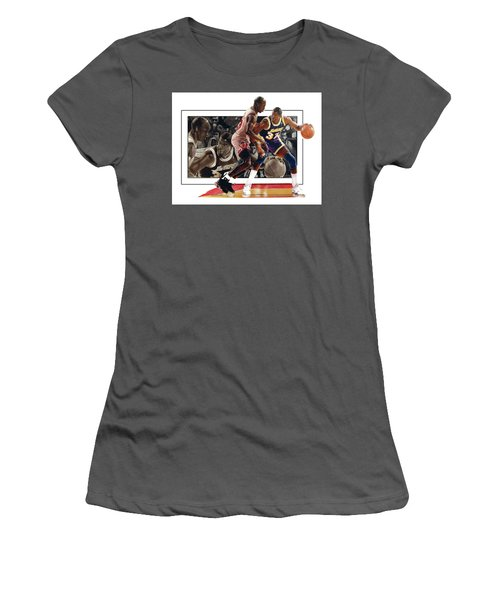 Magicandmike Women's T-Shirt (Junior Cut) by Dwayne Lester