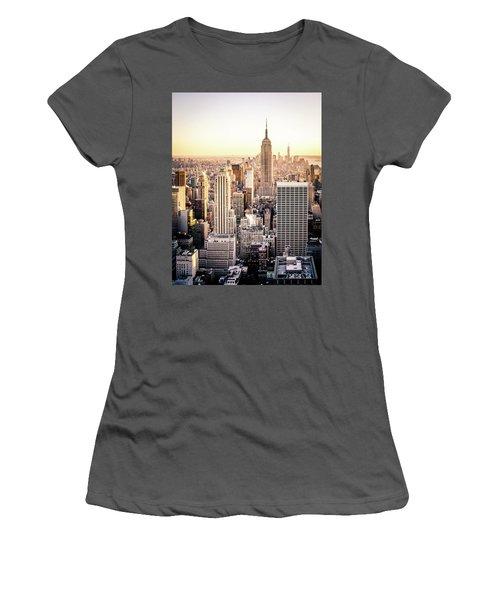 Manhattan Women's T-Shirt (Junior Cut) by Michael Weber