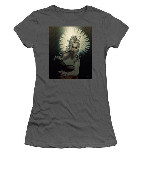Medusa Women's T-Shirt (Junior Cut) by Joaquin Abella