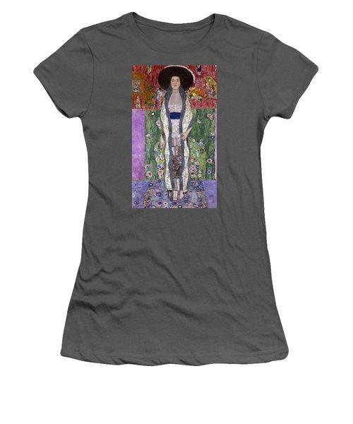 Portrait Of Adele Bloch-bauer II Women's T-Shirt (Junior Cut) by Gustav Klimt