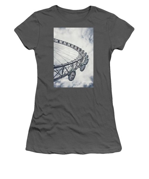 Spin Me Around Women's T-Shirt (Junior Cut) by Evelina Kremsdorf