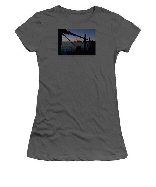 Women's T-Shirt (Junior Cut) featuring the photograph Sydney Opera House by Travel Pics