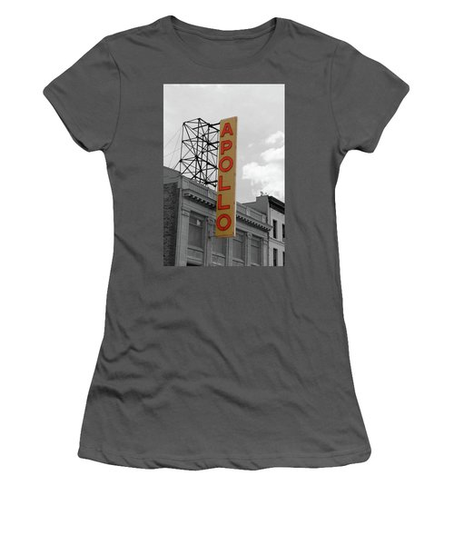 The Apollo In Harlem Women's T-Shirt (Junior Cut) by Danny Thomas