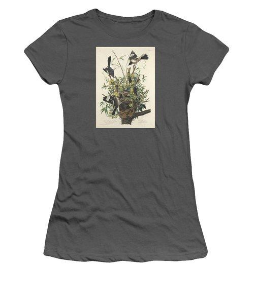 The Mockingbird Women's T-Shirt (Junior Cut) by John James Audubon
