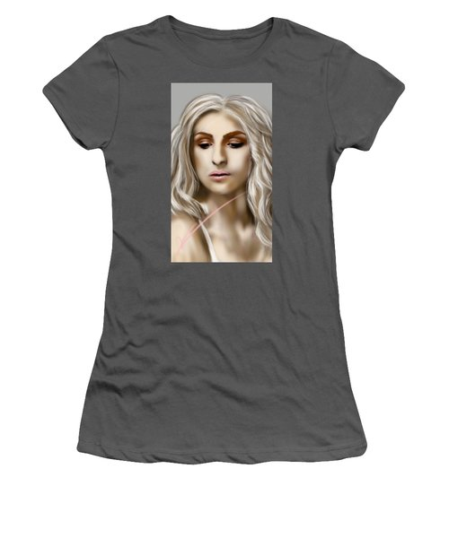 Thinking Women's T-Shirt (Junior Cut) by Pat Carafa