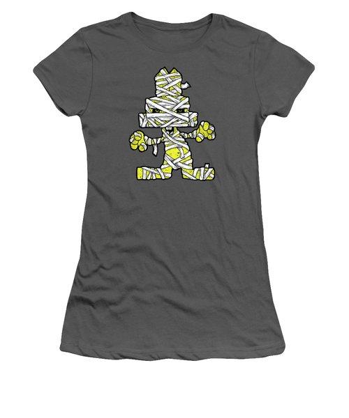 Undead Bunny Women's T-Shirt (Junior Cut) by Bizarre Bunny