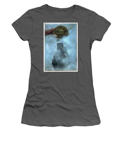 Unnatural Fog Women's T-Shirt (Junior Cut) by Benjamin Dean