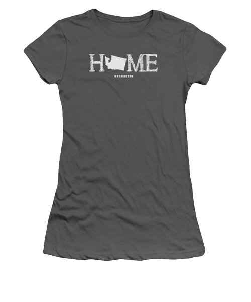Wa Home Women's T-Shirt (Junior Cut) by Nancy Ingersoll