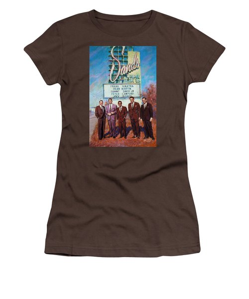 The Rat Pack Women's T-Shirt (Junior Cut) by Viola El