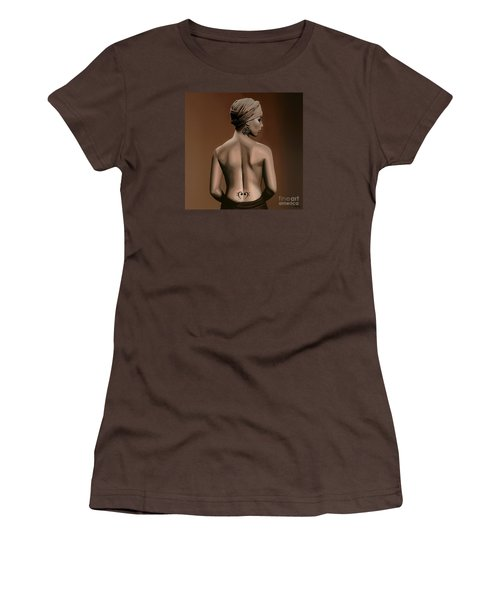 Alicia Keys  Women's T-Shirt (Junior Cut) by Paul Meijering