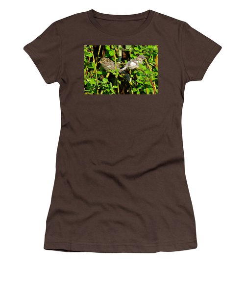 Babies Afraid To Fly Women's T-Shirt (Junior Cut) by Frozen in Time Fine Art Photography