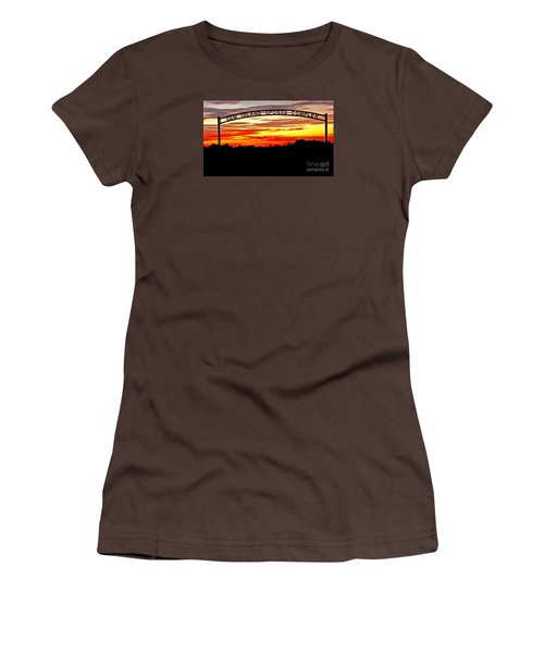Beautiful Sunset And Emmett Sport Comples Women's T-Shirt (Junior Cut) by Robert Bales