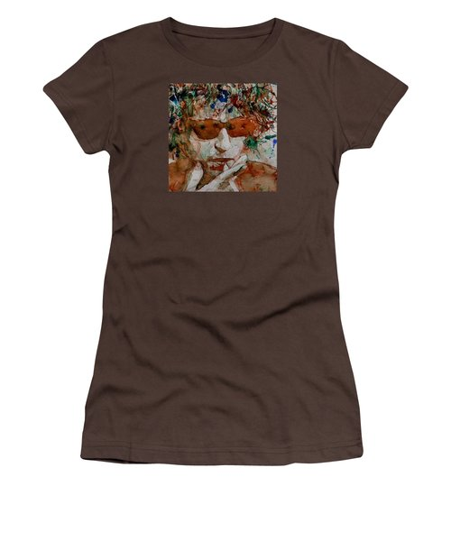 Just Like A Woman Women's T-Shirt (Junior Cut) by Paul Lovering