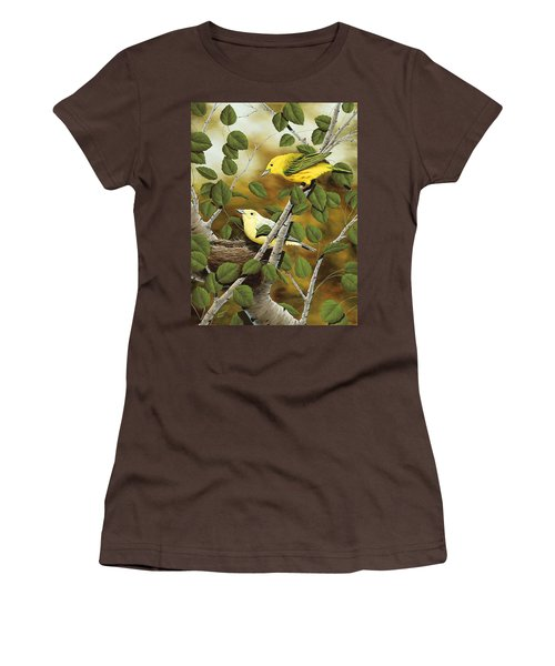 Love Nest Women's T-Shirt (Junior Cut) by Rick Bainbridge