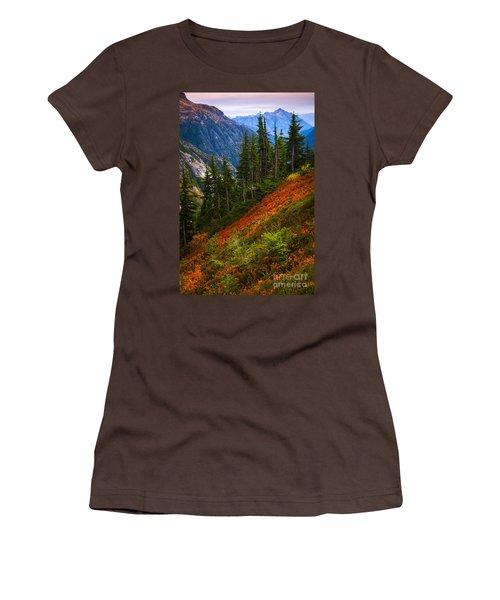 Sahale Arm Women's T-Shirt (Junior Cut) by Inge Johnsson