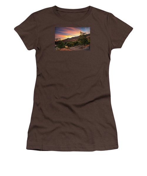 Sunrise At Woodhead Park Women's T-Shirt (Junior Cut) by Robert Bales