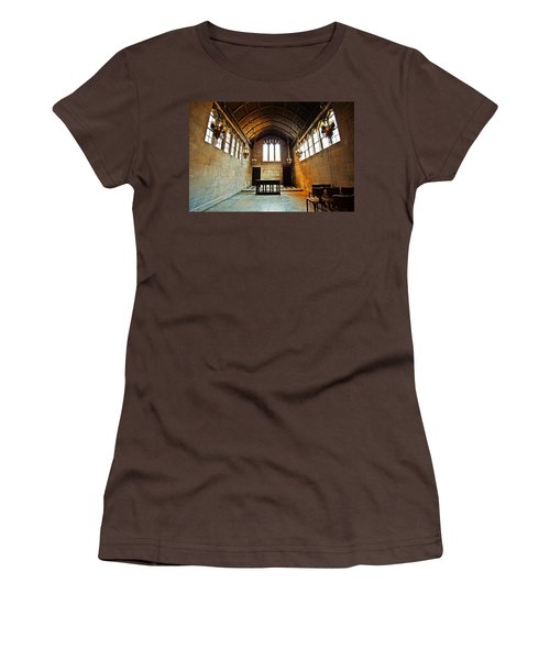 Of Stone And Wood Women's T-Shirt (Junior Cut) by CJ Schmit