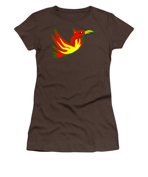 Phoenix Women's T-Shirt (Junior Cut) by Frederick Holiday