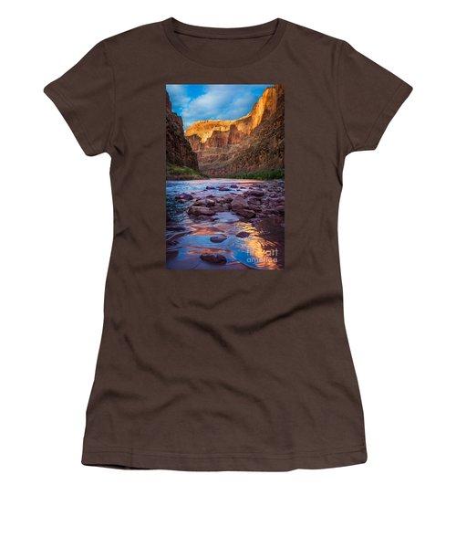 Ancient Shore Women's T-Shirt (Junior Cut) by Inge Johnsson