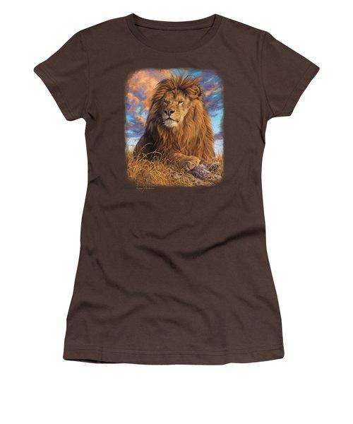 Watchful Eyes Women's T-Shirt (Junior Cut) by Lucie Bilodeau