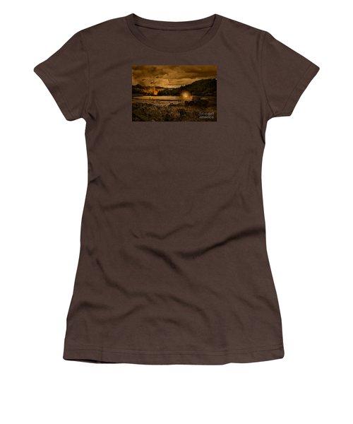 Attack At Nightfall Women's T-Shirt (Junior Cut) by Amanda And Christopher Elwell