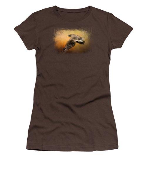 First Flight Women's T-Shirt (Junior Cut) by Jai Johnson