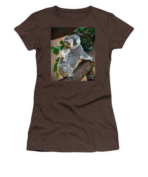 Hanging On Women's T-Shirt (Junior Cut) by Jamie Pham