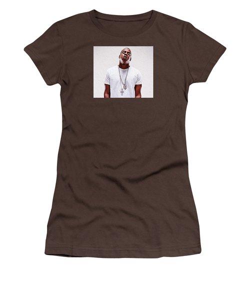 Jay-z Women's T-Shirt (Junior Cut) by Iguanna Espinosa