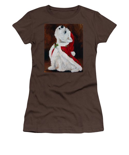 Joy To The World Women's T-Shirt (Junior Cut) by Mary Sparrow