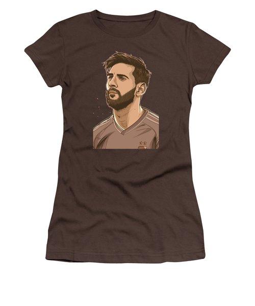 Please Do Not Go Lio Women's T-Shirt (Junior Cut) by Akyanyme