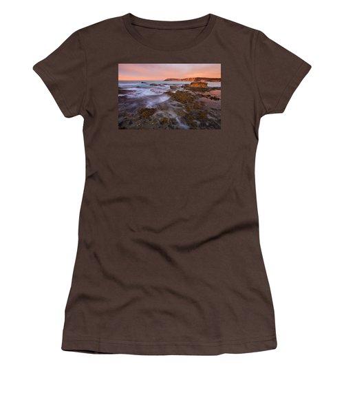 Red Dawning Women's T-Shirt (Junior Cut) by Mike  Dawson