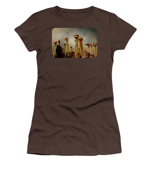 The Savannah Gang Women's T-Shirt (Junior Cut) by Linda Koelbel