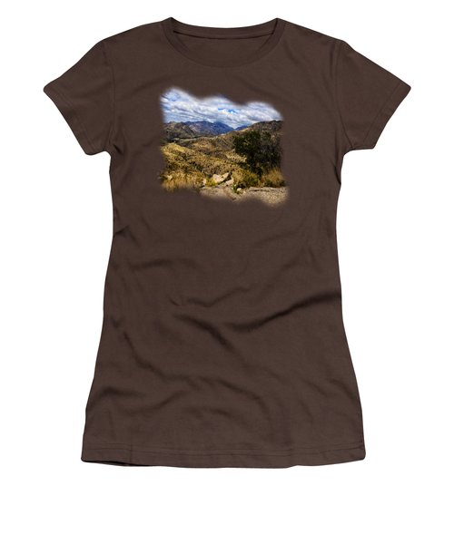 Windy Point No.15 Women's T-Shirt (Junior Cut) by Mark Myhaver