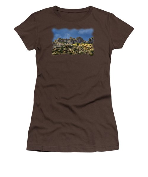 Windy Point No.7 Women's T-Shirt (Junior Cut) by Mark Myhaver