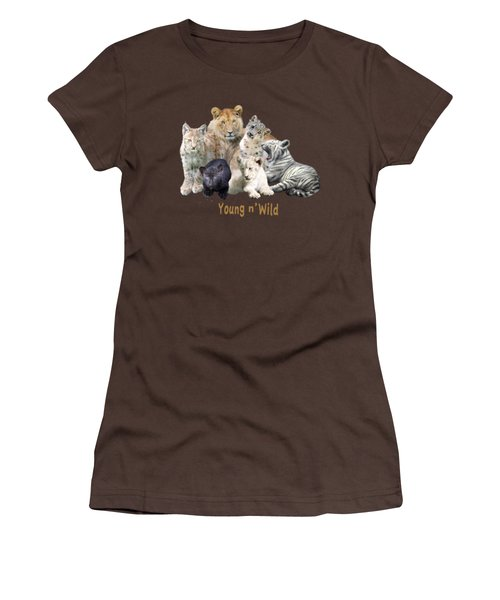 Young And Wild Women's T-Shirt (Junior Cut) by Carol Cavalaris