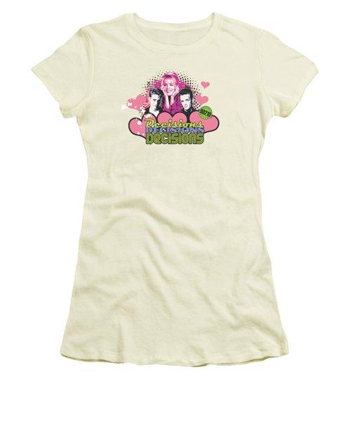 90210 - Decisions Women's T-Shirt (Junior Cut) by Brand A
