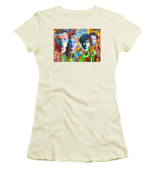 Coldplay Women's T-Shirt (Junior Cut) by Joshua Morton