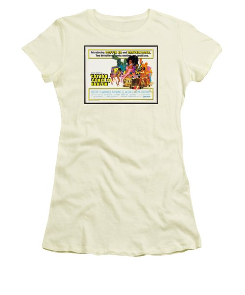 Cotton Comes To Harlem Poster Women's T-Shirt (Junior Cut) by Gianfranco Weiss