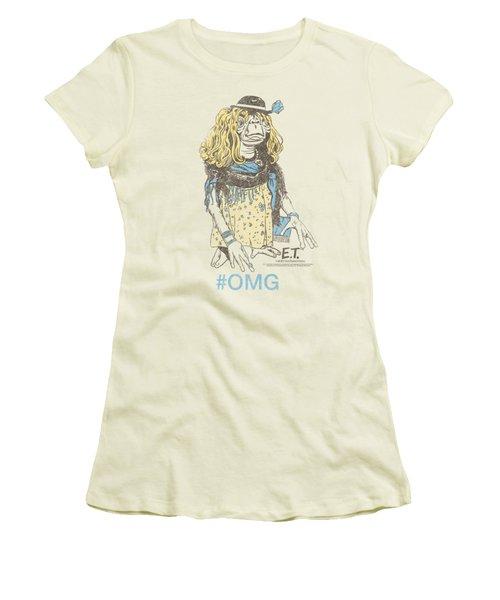 Et - Dress Up Women's T-Shirt (Junior Cut) by Brand A
