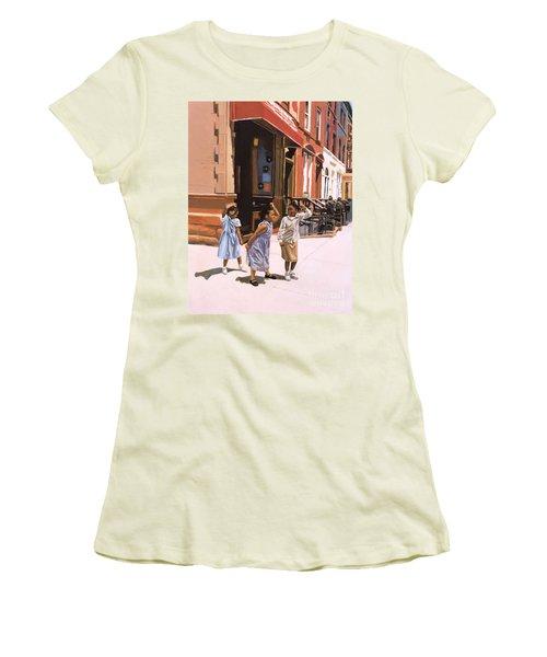 Harlem Jig Women's T-Shirt (Junior Cut) by Colin Bootman